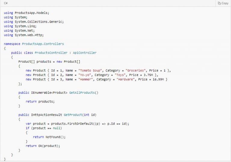 Web API là gì